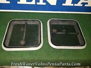 2 Small Taylor Made Cuddy Boat Hatch 12 X 12 Rough Opening Hatches