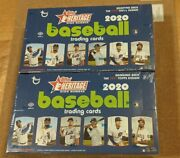 2020 Topps Heritage ⚾ High Number Factory Sealed Hobby Boxes Lot 2