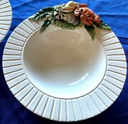4 Must See Realistic Crab And Shells On Fitz And Floyd Fish Market Soup Bowls Dish