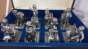 Lance 1979 Children At Play Antique Silver Plate Limited Edition Napkin Rings