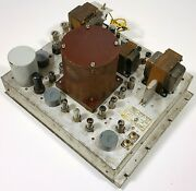 Rca Bw-11a Broadcast Frequency Monitor Vintage Tube Am Radio Station Equipment