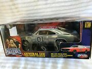 Ertl General Lee 1969 Dodge Charger 118 Diecast Chrom 39181 In Stock