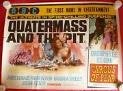 Quatermass And The Pit / Circus Of Fear. 1968 Abc Double Bill Uk Quad