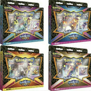 Pokemon Tcg Shining Fates Mad Party Pin Collections Box All 4 Boxes