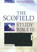 Scofield Study Bible Iii, Nkjv By Oxford University Press Excellent Condition