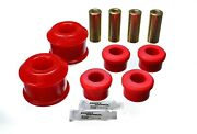 Energy Suspension For Honda Acura Control Arm Bushing Set Red Front - 16.3116r