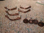 Dark Bronze Furniture Cabinet Knobs And Pulls, Heavy Duty Purchased From Lowes