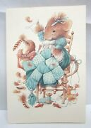6 Vera The Mouse Hallmark Get Well Greeting Cards And Envelopes 1997 Lot 98