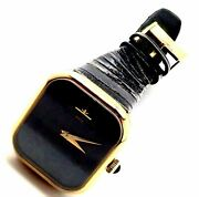 Authentic Baume And Mercier 18k Yellow Gold Manual Wind Watch 38304
