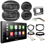 Pioneer Apple Carplay Car Radio And Speaker Package For 2005-2011 Toyota Tacoma