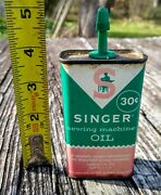 Vintage Old Singer Sewing Machine Oil Can