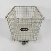 Authentic Original 1950's Gym Locker Basket G-90 With Matching Number Tag