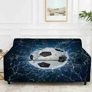 Football Way Ball Stretch Sofa Cover Lounge Couch Slipcover Recliner Protector