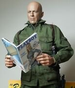 1/6 Scale Four Custom Playboy Gi Joe Themed - Includes Several Interior Pages