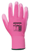 200 Pack Portwest General Handling Pink Pu Palm Gloves Sizes Xs-l A120