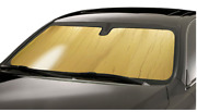 Custom-fit Roll-up Gold Sunshade By Introtech Fits Smartcar For Two 08-15 Coupe