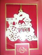 Lenox 2021 A Year To Remember Train Ornament New
