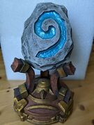 Hearthstone Warcraft Statue Decoration With Breathing Light Effect