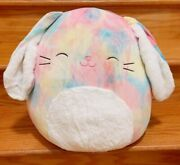 Squishmallows Kellytoy 2021 Springtime Easter 12 Candy The Bunny Plush Doll