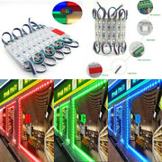10-1000ft Rgb 5050 Led Module Store Front Light Waterproof Decor Light Lamp Only