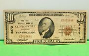 10 National Currency Better Note Clintonville Wi Charter 6273 F