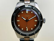 Exclusive Oris Divers Sixty-five Honey For The Rake And Revolution Watch Bandp