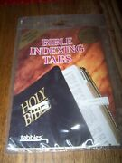 Tabbies - Bible Index Tabs - Box - Contains 15 Sets Large Print - Silver