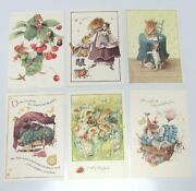 6 Assorted Vera The Mouse Hallmark Greeting Cards And Envelopes 1997 5