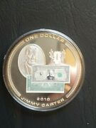 American Mint Coin - Us 1 Silver Certificate - Jimmy Carter