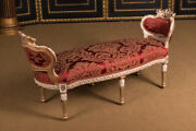 High Quality French Chaise Longue In Louis Quinze Style