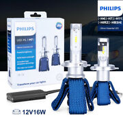 Philips Ultinon Led Kit For Jeep Compass 2011-2018 Low Beam 6000k