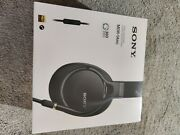 Sony Mdr1am2 Wired High Resolution Audio Overhead Headphones, Black Mdr-1am2/b