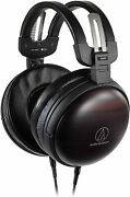 Audio-technical Ath-awkt High Resolution Headphones Wood Housing From Japan