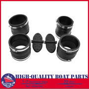 Exhaust Y-pipe Hose Bellows Kit Fit For Mercruiser 1987andup 32-14358t 807166a1