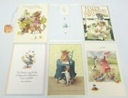 6 Assorted Vera The Mouse Hallmark Greeting Cards And Envelopes 1997 12