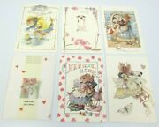 6 Assorted Vera The Mouse Hallmark Greeting Cards And Envelopes 1997 15