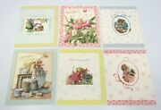 6 Assorted Vera The Mouse Hallmark Greeting Cards And Envelopes 1997 19