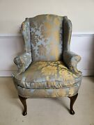 Wing Back Chair New Fabric