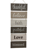 Wall Dandeacutecor Sign - Welcome Vertical Wall Art Decorations Rustic Home Accessories