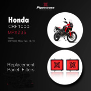 Pipercross Performance Panel Air Filter Mpx235 Fits Honda Crf1000 Africa 2016-19