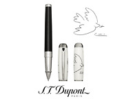 Nib S.t. Dupont 412050l Limited Edition Dove Of Peace Picasso Rollerball Pen