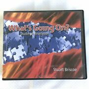 What's Going On Studies In Revelation By Stuart Briscoe 8-cd Bible Study Audio