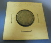 1912-d Liberty V Nickel Nice Collector Coin 108 Year Old Free Shipping