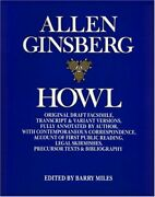Howl By Allen Ginsberg And Barry Miles Mint Condition