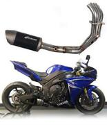 Pre-order Graves R1 Full Stainless Steel Low Mount Exhaust System 2009-2014