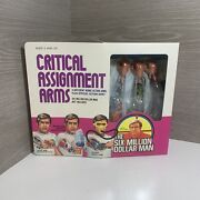 Vintage 1976 Kenner Six Million Dollar Man Critical Assignment Arms Sealed Mib
