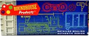 Roundhouse Products 38' Ventilated Box Car 3800 Barnum Bailey Ho Scale Kit E652