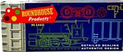 Roundhouse Products Circus Baggage Car 3795 Barnum And Bailey Ho Scale Kit E649