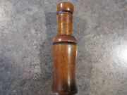 Vintage Lohman 4 3/4 Goose Call In Excellent Used Condition