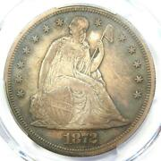 1872 Proof Seated Liberty Silver Dollar 1 Coin - Pcgs Proof Au Details Pr/pf